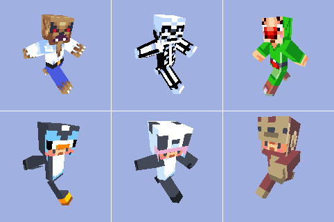 Cool Animations Minecraft Animals Minecraft Skins